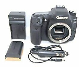 Canon EOS 80D 24.2 MP Digital SLR Camera - Black (Body Only) From Japan