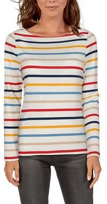 Natural Reflections Striped Boat-Neck Long-Sleeve Shirt for Ladies | Bass Pro Shops