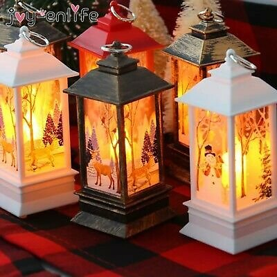 Christmas Decorations For Home Lantern Led Candle Tea Light Candles Xmas Tree
