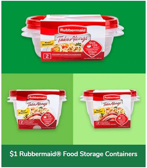 Rubbermaid® Food Storage Containers