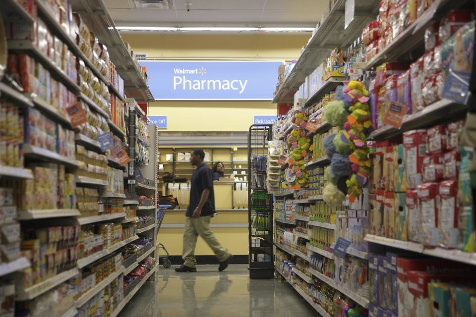Walmart, Kohl's And Big Drug Chains Look For Wealth From Health