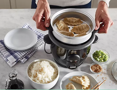 Oster DiamondForce Nonstick 6-Cup Electric Rice Cooker