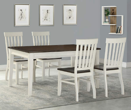 Stratford Caylie Farmhouse Dining Set - Big Lots