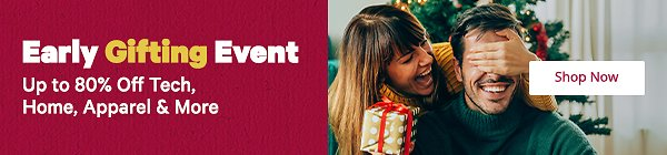 Up To 80% Off Early Gifting Event - Groupon