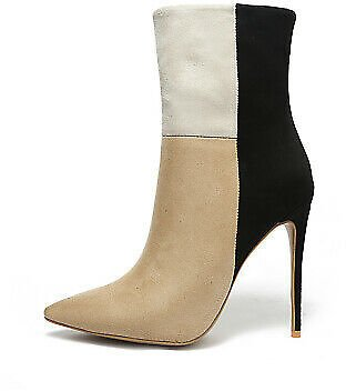 Fashion Winter Women Pointed Toes High Heels Formal Ankle Boots Ladies Shoes SUP