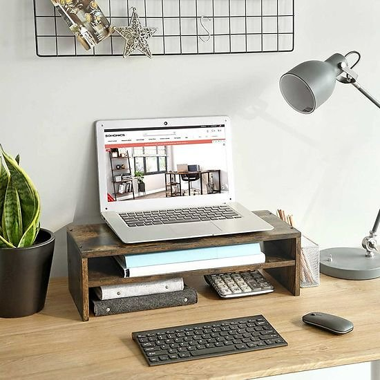 SONGMICS 2-Tier Monitor Stand