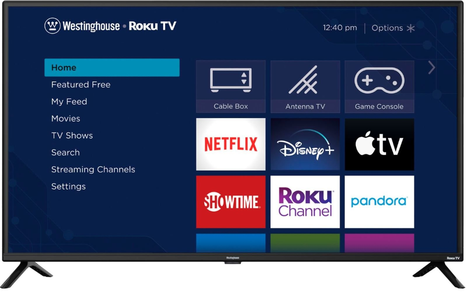 Westinghouse 42-in Class LED FHD TV Roku Smart TV