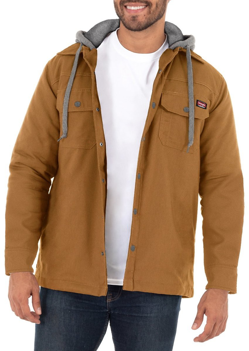 Wrangler Men's Unlined Shirt Jacket