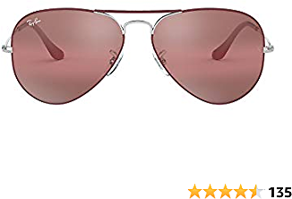 Lower Price Ray-Ban Unisex-Adult Rb3025 Classic Evolve Photochromic Sunglasses