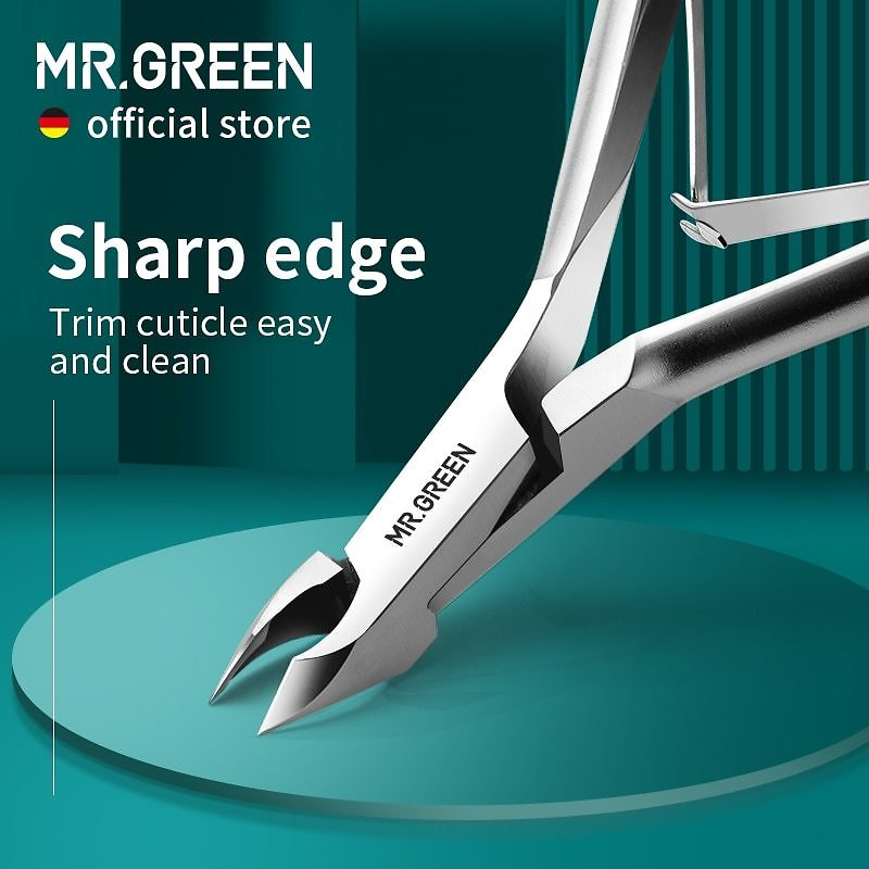 Cuticle Nippers Stainless Steel Nail Dead Skin Scissors Cuticle Cutters Trimmer Remover Manicure Pedicure Clippers Tool