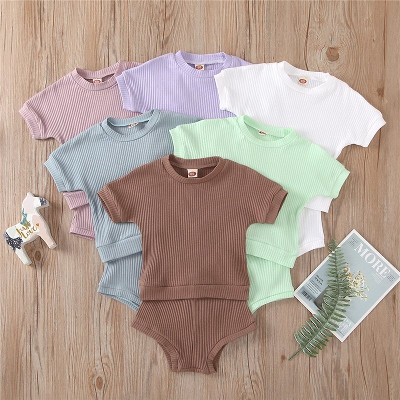 Baby Unisex Solid Sets