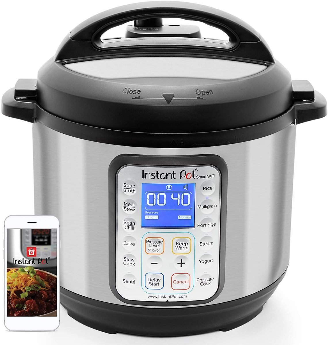 Instant Pot Smart WiFi 8-in-1 Electric Cooker
