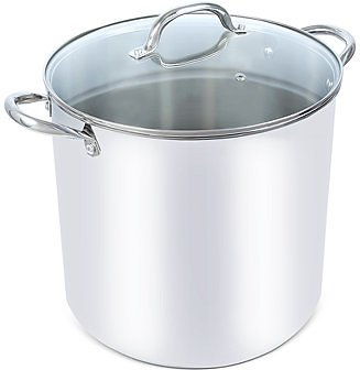 Tools of The Trade 16-Qt. Stainless Steel Stock Pot with Lid, Created for Macy's & Reviews - Cookware - Kitchen