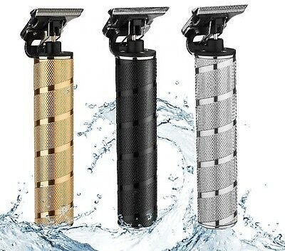 Professional Portable Electric Cordless Trimmer Wireless Hair Clipper Shaver Set