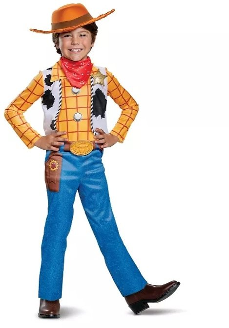 Disguise Kids' Disney Toy Story Woody Halloween Costume Jumpsuit