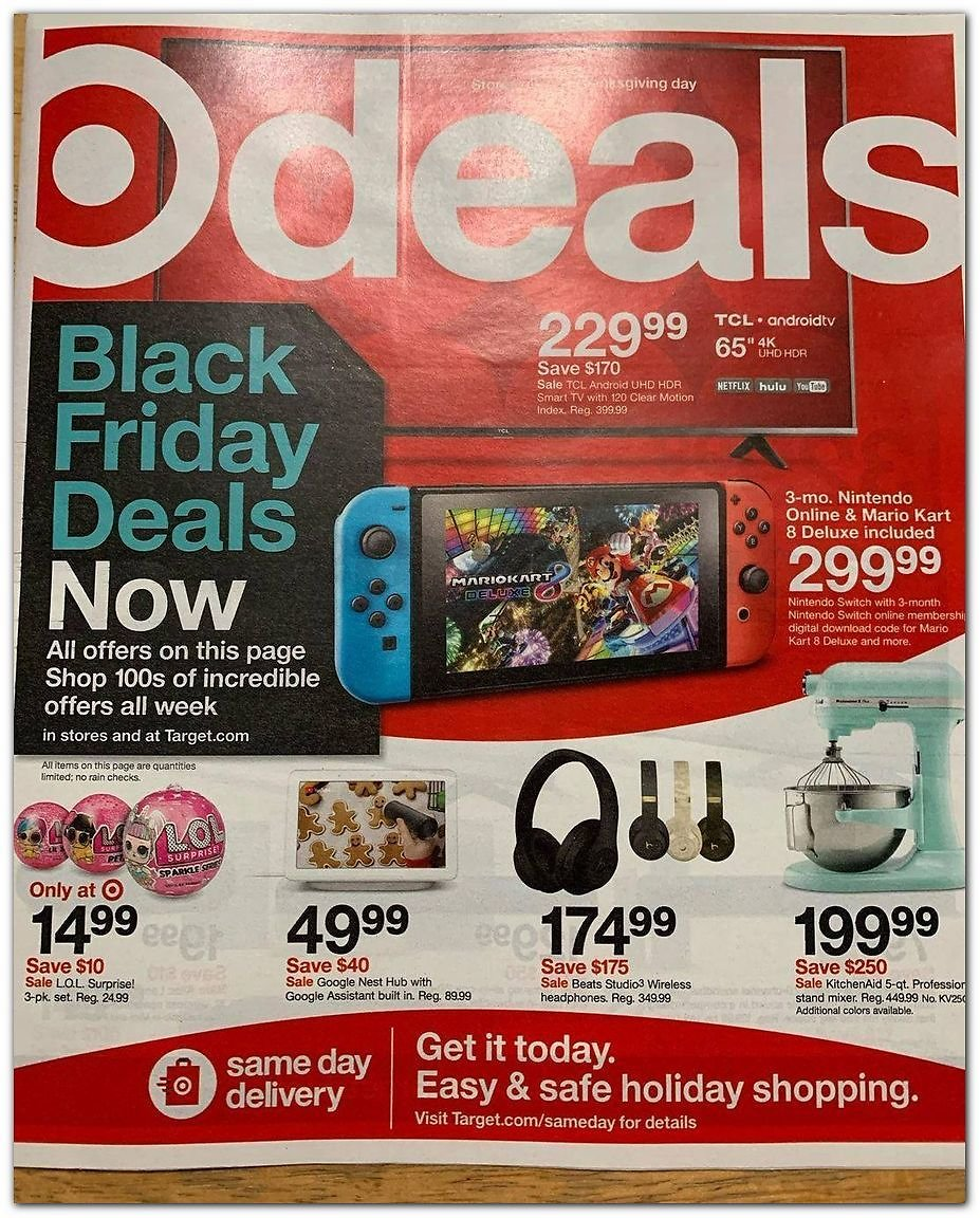 2020 Black Friday Ad Released!