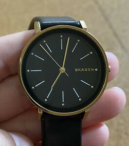 Skagen Womens Watch Black Strap
