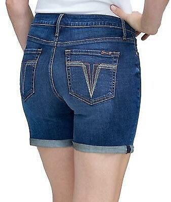 Seven7 Women's Rolled Cuff Weekend Short in Forever - Choose Size - NWT