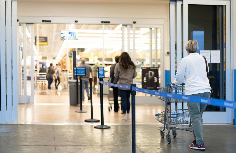 Walmart to Limit In-Store Customers Again