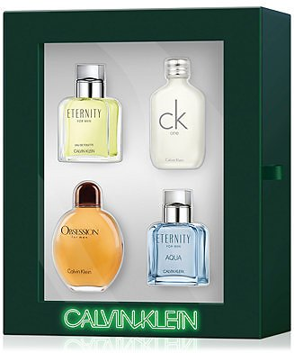 Calvin Klein Men's 4-Pc. Classics Gift Set & Reviews - All Perfume - Beauty