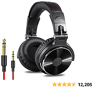 OneOdio Best Wired Over Ear Headphones - Studio Monitor & Mixing DJ Stereo Headsets with 50mm Neodymium Drivers