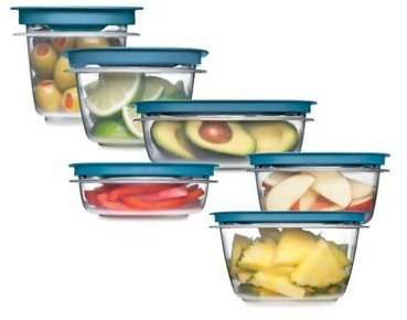 Rubbermaid® Flex & Seal™ Food Storage with Easy Find Lids