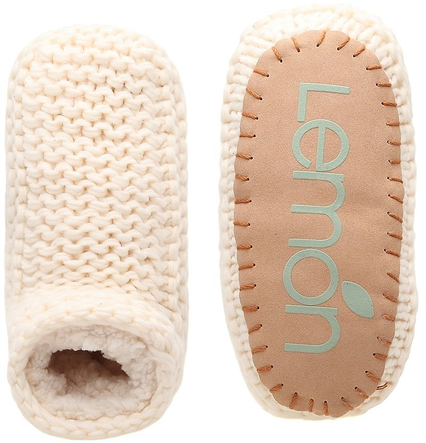 Lemon Cozy Slipper Boot