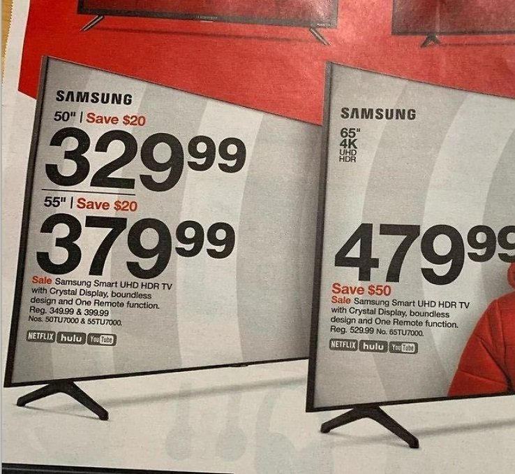 Black Friday Samsungs TV Sale Now!
