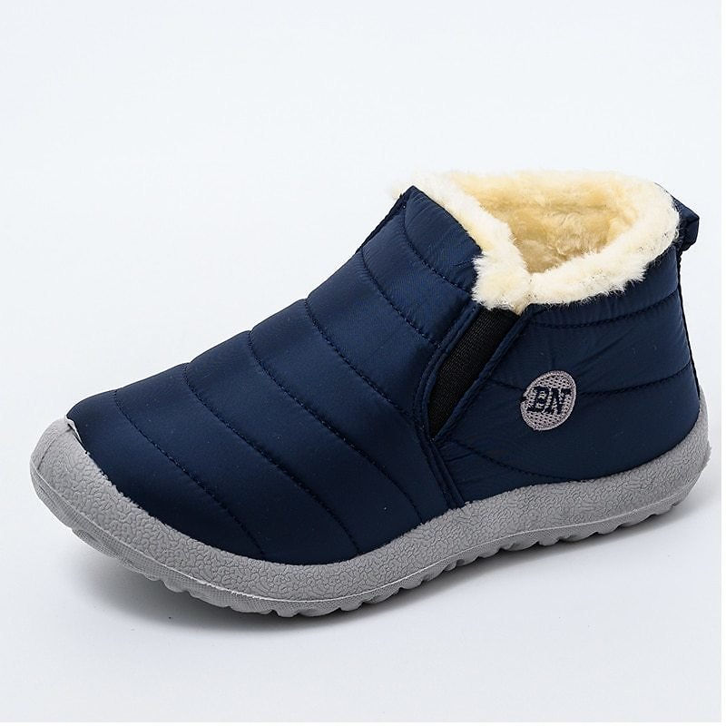 US $11.9 60% OFF|Women Boots Ultralight Winter Shoes Women Ankle Botas Mujer Waterpoor Snow Boots Female Slip On Flat Casual Shoes Plush Footwear|Ankle Boots| - AliExpress