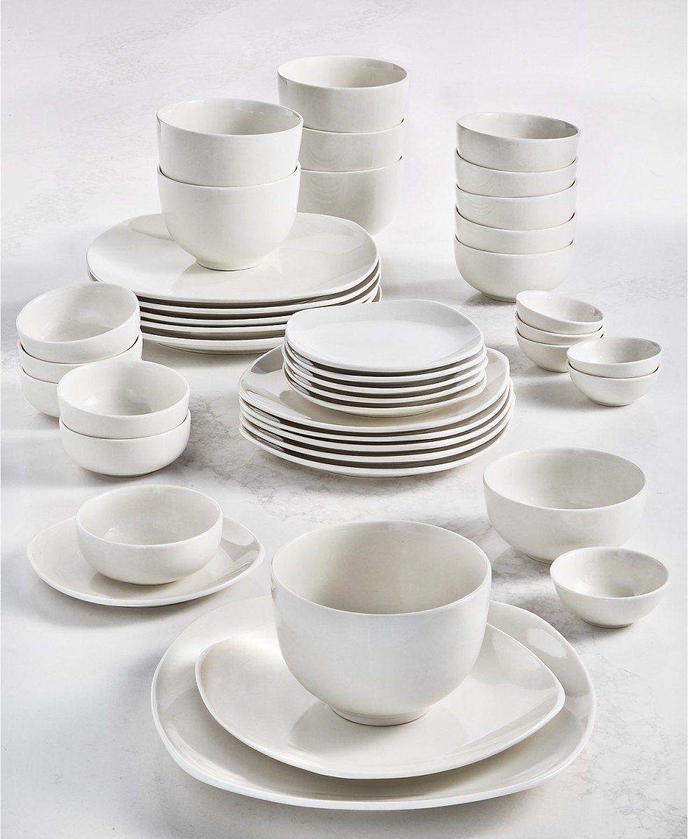 Black Friday Special Tabletops Unlimited 42 Pc Dinnerware Set (4 Options)