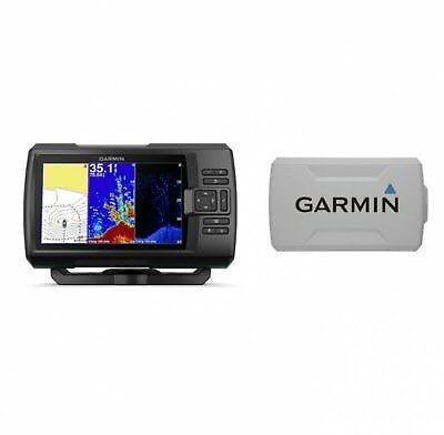 Garmin STRIKER Plus 7cv Fishfinder with GT20-TM Transducer and Protective Cover 753759184278