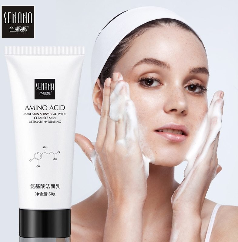 US $9.98 |SENANA Nicotinamide Amino Acid Face Cleanser Facial Scrub Cleansing Acne Oil Control Blackhead Remover Shrink Pores Skin Care|Cleansers| - AliExpress