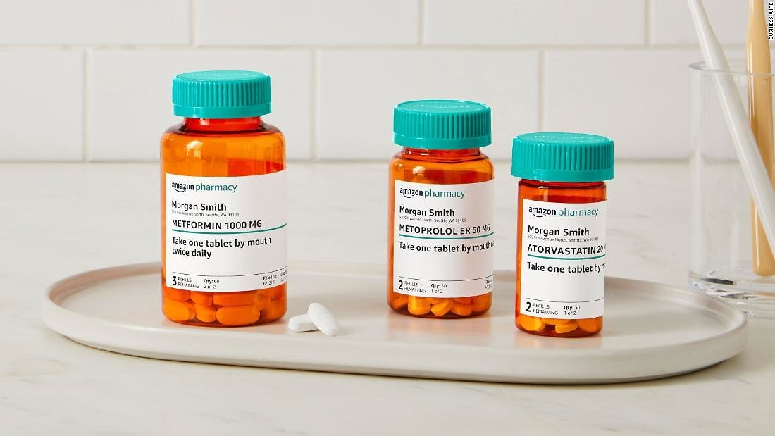 Amazon Is Now a Drug Store. It Will Ship Prescriptions to Prime Members