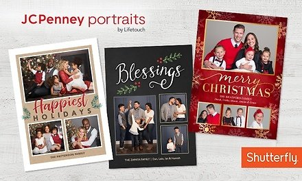 5X7 Holiday Cards 24,36 & 60-Pack - JCPenney Portrait