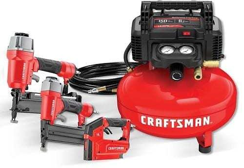 CRAFTSMAN 6-Gallon Single Stage Portable Electric Pancake Air Compressor (3-Tools Included) Lowes.com