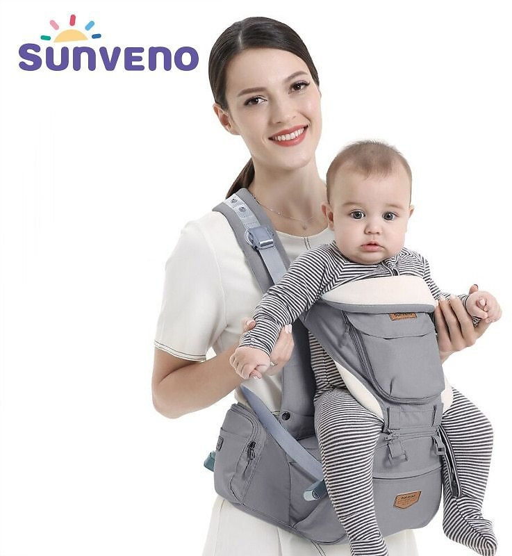 US $40.26 34% OFF|Sunveno Ergonomic Baby Carrier Infant Hip Seat Carrier Kangaroo Sling Front Facing Backpacks for Baby Travel Activity Gear|carrier for Baby|wrap Carrierergonomic Baby Carrier - AliExpress