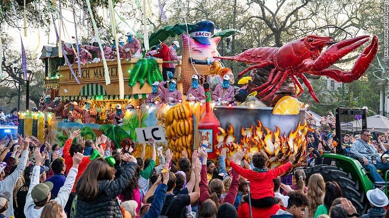 Due to Covid-19, Mardi Gras Parades Are Canceled in New Orleans for 2021