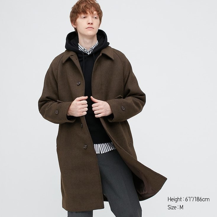 MEN BALMACAAN COAT