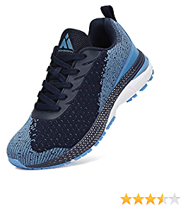 Mishansha Running Shoes for Men Athletic Walking Tennis Sneakers Fashion Casual Comfy Sports Breathable Outdoor Footwear