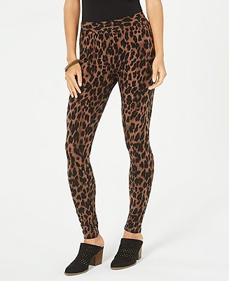 Style & Co Animal-Print Pull-On Leggings, Created for Macy's & Reviews - Pants & Leggings - Women