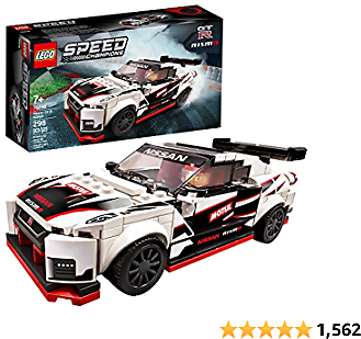 LEGO Speed Champions Nissan GT-R NISMO 76896 Toy Model Cars Building Kit