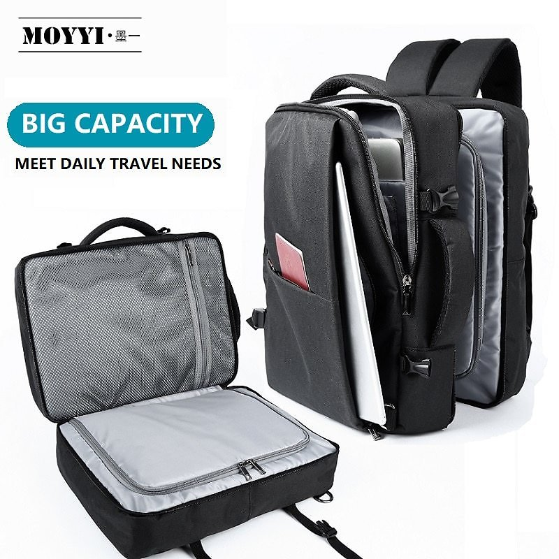 US $25.82 59% OFF|Travel Backpack Large Capacity Teenage Male Mochila Anti Theft Bag Multi Layer Space 15.6 Inch Laptop Backpack Waterproof рюкзак|Backpacks| - AliExpress