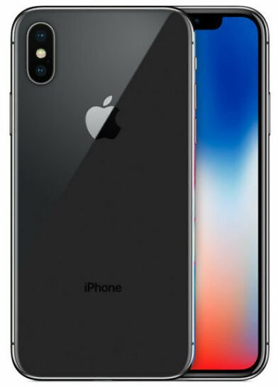 Apple IPhone X - 256GB - Space Grey (Unlocked) A1865 (CDMA + GSM) (AU Stock) for Sale Online