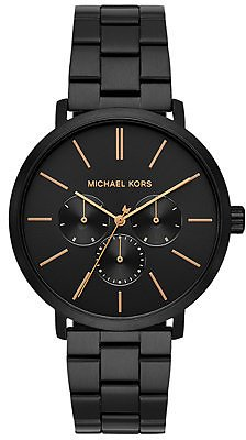 Michael Kors Men's Blake Black Stainless Steel Bracelet Watch 42mm & Reviews - Watches - Jewelry & Watches