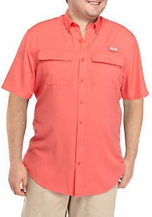 Ocean & Coast® Big & Tall Short Sleeve Fishing Shirt