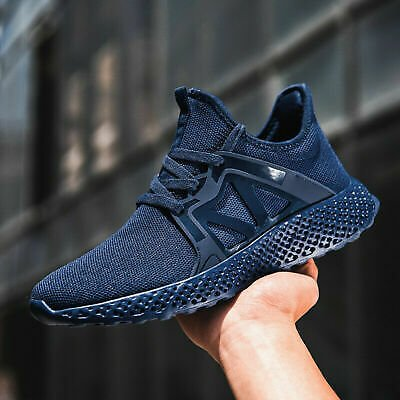 A Men's Sports Shoes Jogging Casual Walking Athletic Tennis Running Sneakers Gym