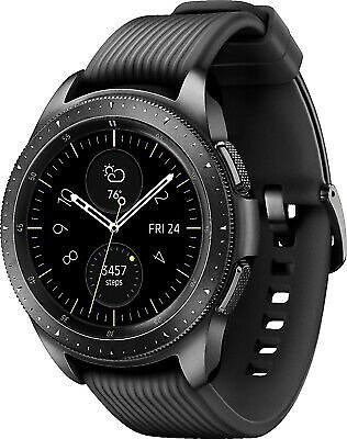 Samsung Galaxy Watch Smartwatch SM-R810 42mm Stainless Steel Midnight Black