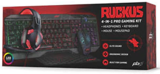 Packard Bell 4 in 1 Pro Gaming Kit