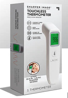 Sharper Image Touchless Thermometer