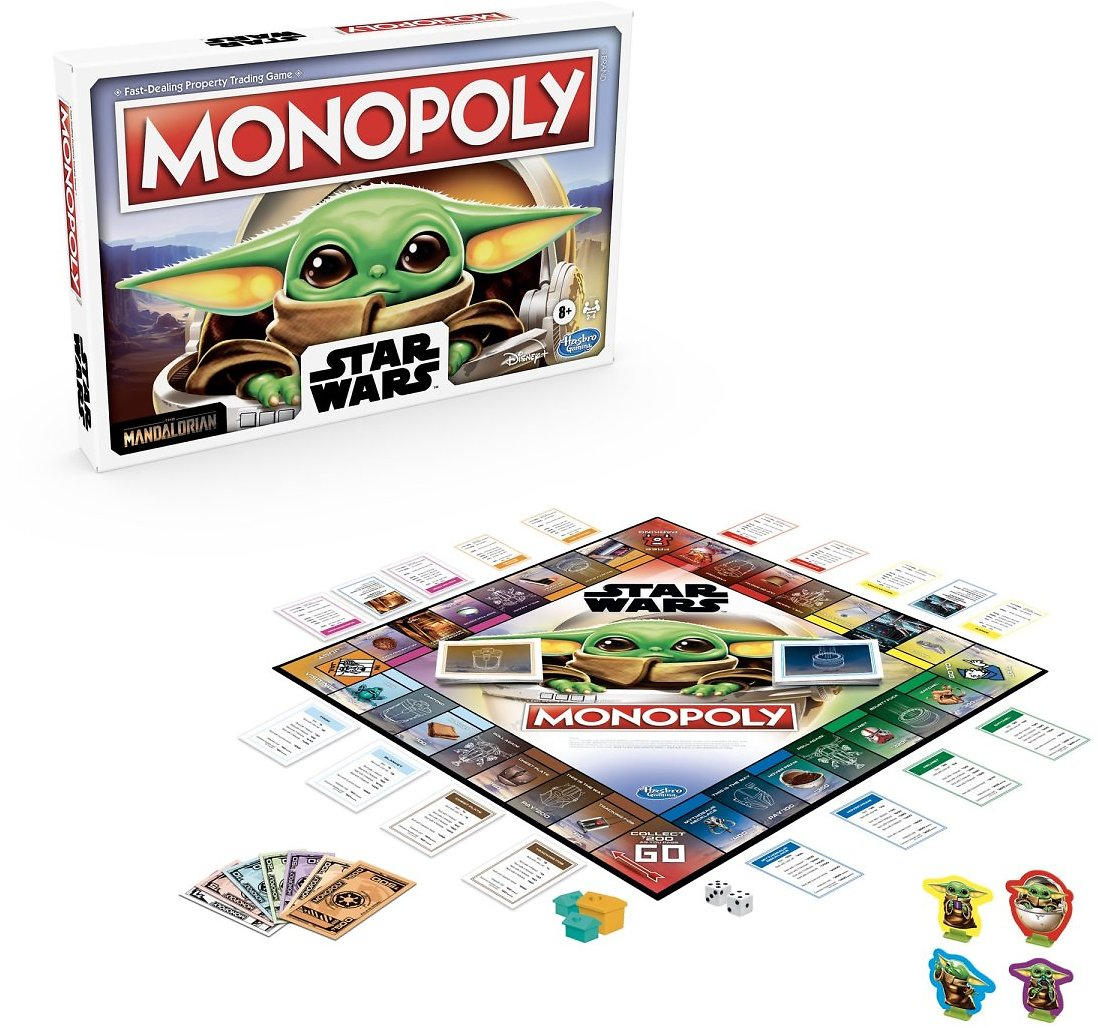 Monopoly Star Wars The Child, Board Game for Ages 8+